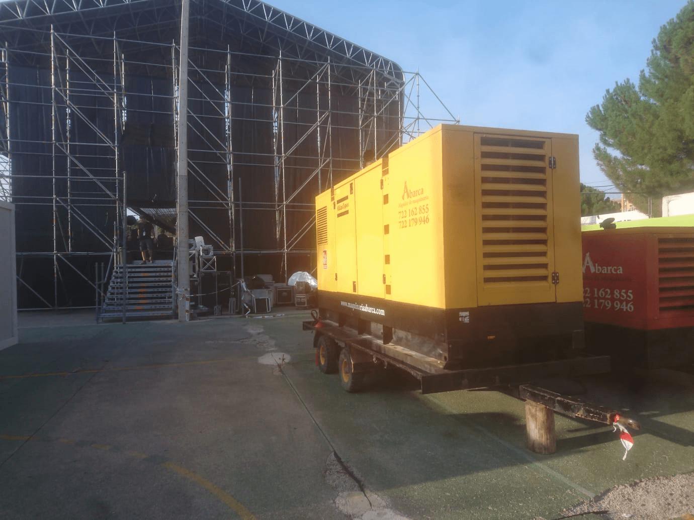 Alquiler de maquinaria en Cuenca