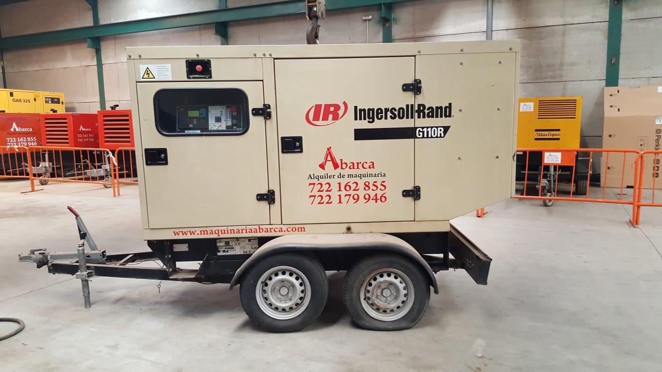 Grupo electrógeno Ingersollrand en venta